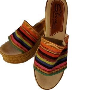 Sbicca Vintage Collection Womens Espadrille Wedge